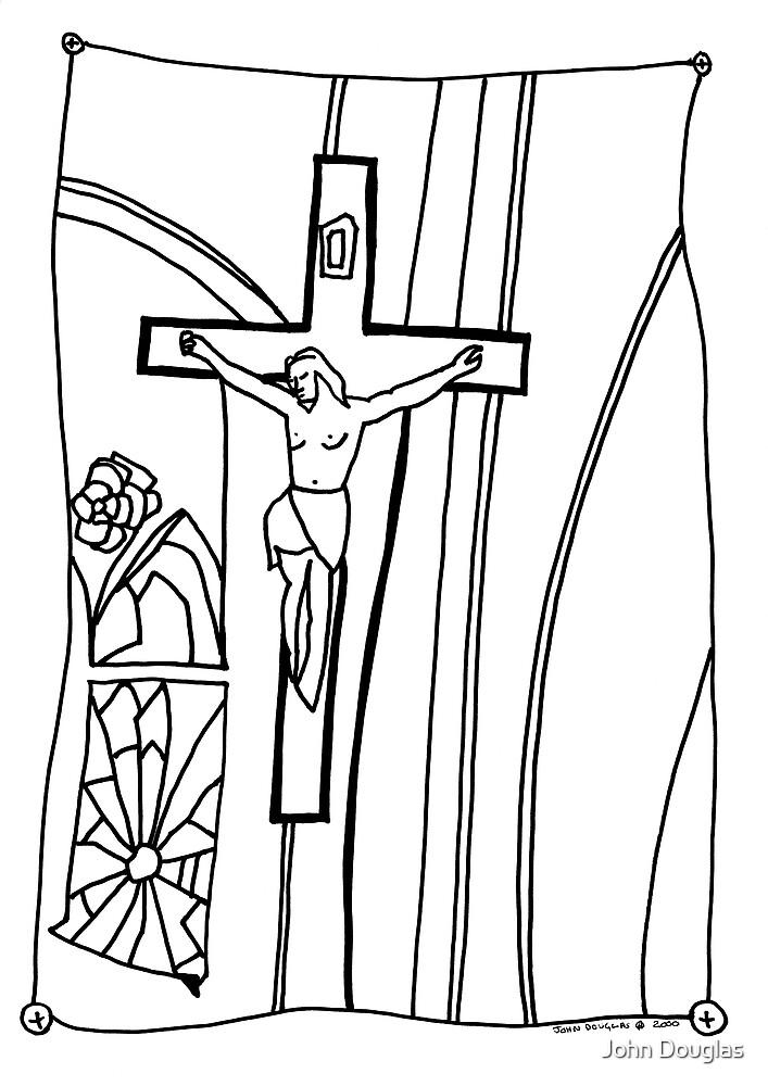 Hung Jesus by John Douglas