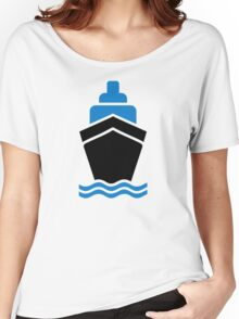 Container ship Women's Relaxed Fit T-Shirt