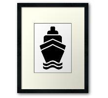 Ship Boat Framed Print