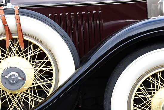 Old Cadillac by socalgirl