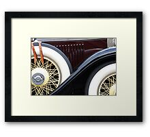 Old Cadillac Framed Print