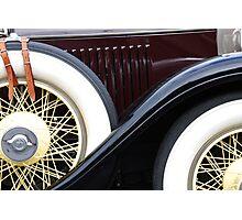 Old Cadillac Photographic Print