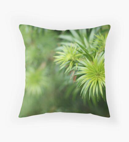 Greenish Throw Pillow