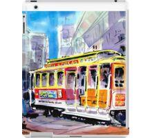 Trolley Turn Around San Francisco iPad Case/Skin