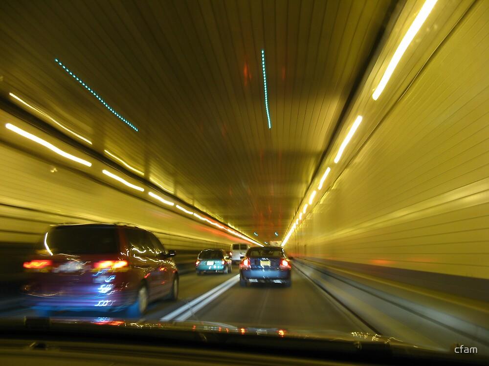 Linclon Tunnel, New York by cfam