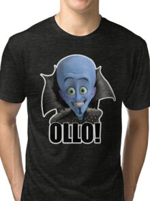 Megamind - Will Ferrell - Ollo! Hello! Tri-blend T-Shirt