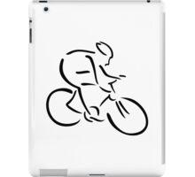 Cycling cyclist iPad Case/Skin