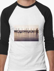 Schluettsiel Ferry Terminal Men's Baseball ¾ T-Shirt