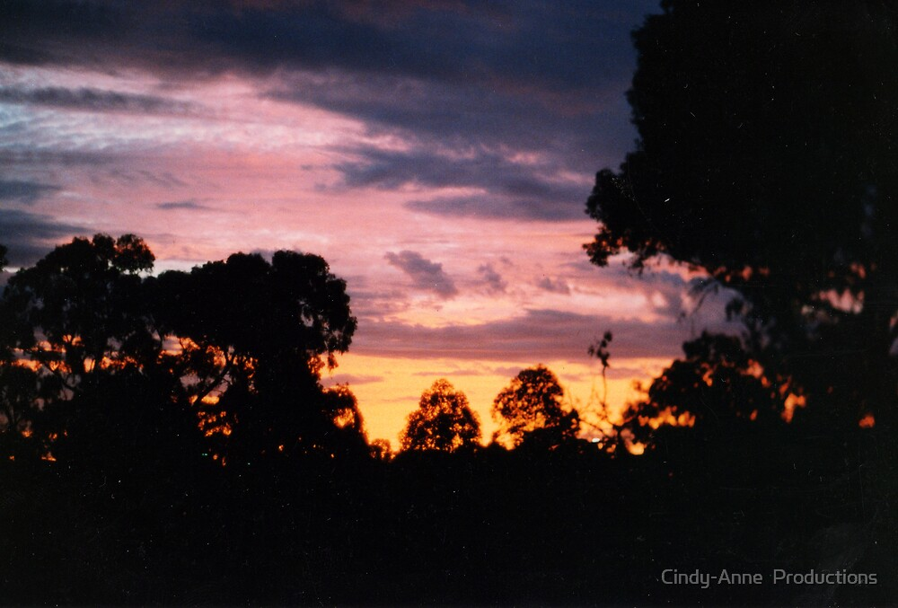 Suburban sunset 2 by Cindy-Anne  Productions