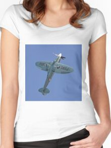 """Supermarine Spitfire PR.XIX PS915 """"The Last"""" Women's Fitted Scoop T-Shirt"""