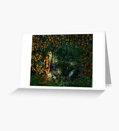 Elf timide - Rose Moxon, Rosalie Dale collaboration Greeting Card