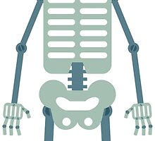 Skeleton Robot by pounddesigns
