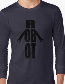Word Robot Long Sleeve T-Shirt