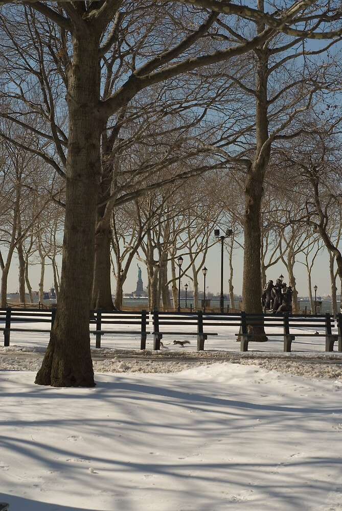 Battery Park, NYC by Scarlet