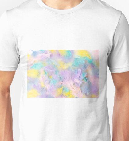 Pastel Feathers  Unisex T-Shirt
