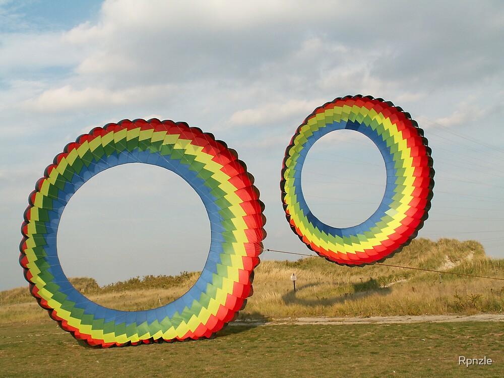 Double Rainbow Kites #1 by Rpnzle
