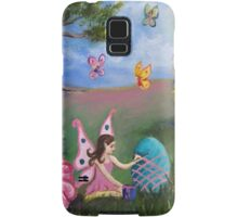Helping out the Easter Bunny Samsung Galaxy Case/Skin