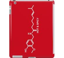 Hot and Spicy: Capsaicin Molecule iPad Case/Skin