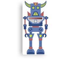 Warrior Robot Canvas Print