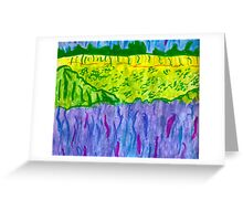 Landcape Painted Greeting Card