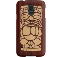 Tiki Ailani Faux Koa Wood Hawaiian Surfboard  Samsung Galaxy Case/Skin
