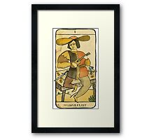 the UKULELIST Framed Print