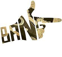 Cowboy Bebop Bang Logo by UsherYoloSwag