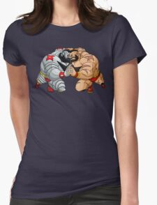 Mirror match Womens Fitted T-Shirt