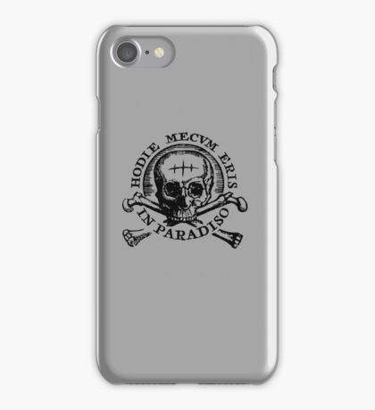 Uncharted 4 - Hodie Mecvm Eris In Paradiso iPhone Case/Skin