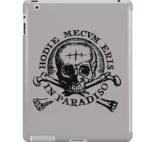 Uncharted 4 - Hodie Mecvm Eris In Paradiso iPad Case/Skin