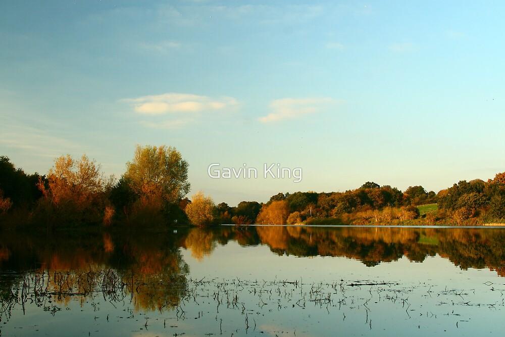 Autumn Lake by Gavin King