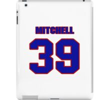 National football player Roland Mitchell jersey 39 iPad Case/Skin
