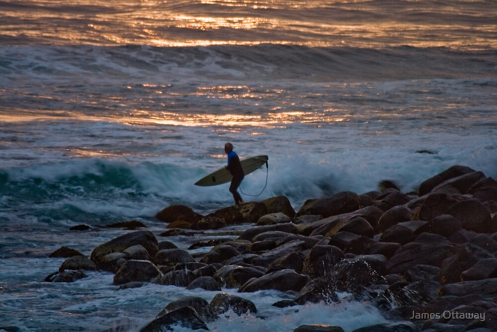 An Early Morning Surf by James Ottaway