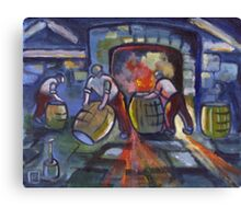 The cooperage  (from my original acrylic painting) Canvas Print