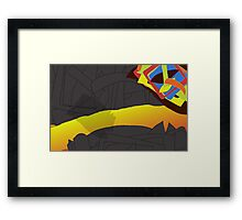 Elevated Palette Framed Print