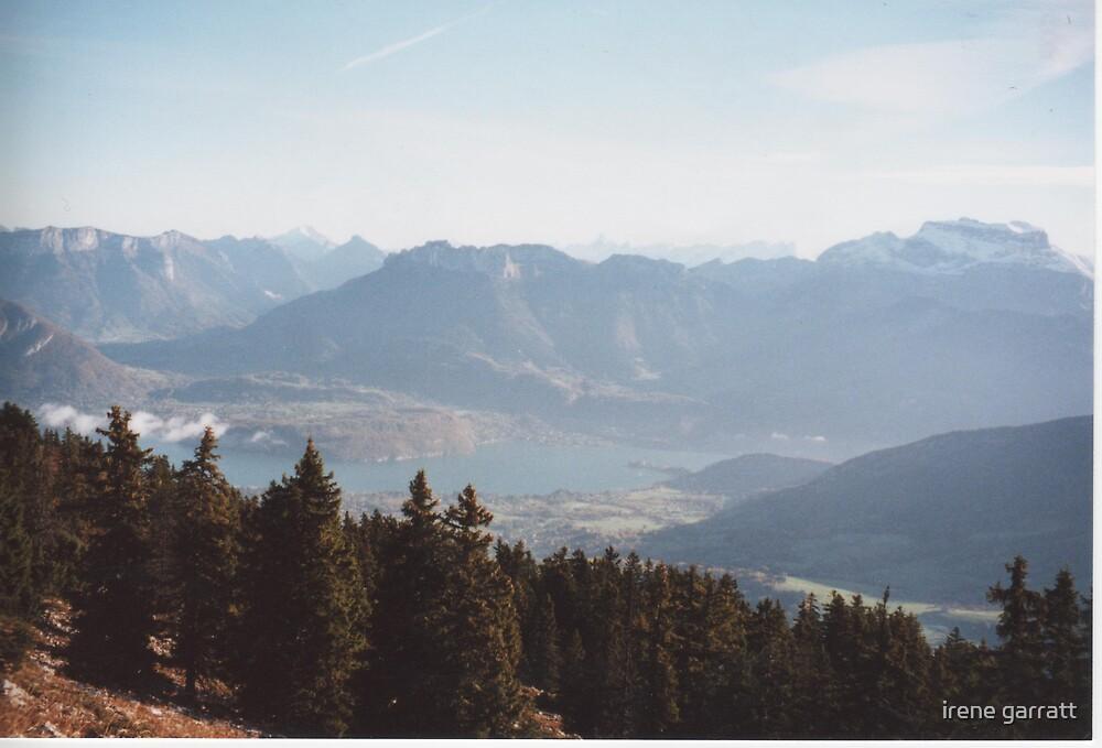 Mountain view by irene garratt
