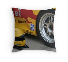 Left Rear Throw Pillow