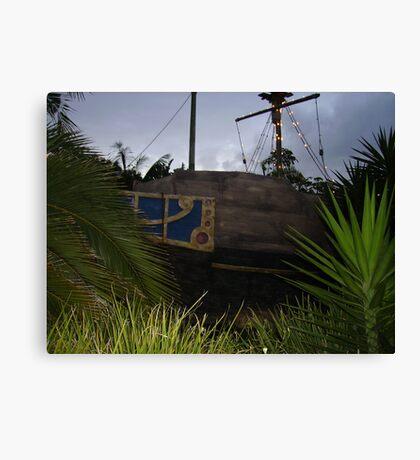 Pirates bote Canvas Print