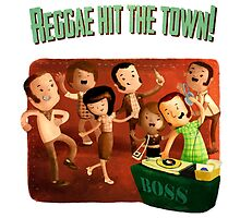 Reggae hit The Town! by colonelle