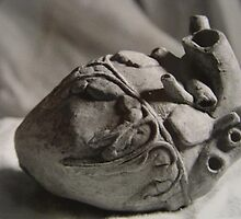clay heart by TheAmateur