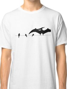 Bird on a wire white Classic T-Shirt