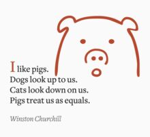 I like pigs by Kurt  Tutschek