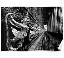Gilded Garudas Poster