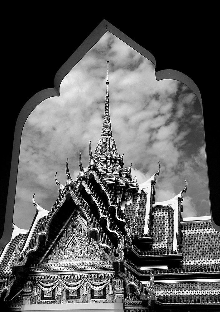 Framed Temple by Dave Lloyd