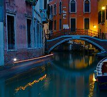 Venezie di notte IV by Michael Mancini