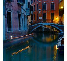 Venezie di notte IV Photographic Print