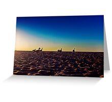Canada Geese Greet the Sun Greeting Card