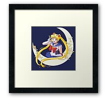 Sailor moon Framed Print