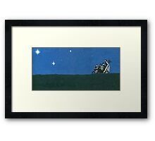 Third Star Framed Print