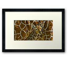 Blended Framed Print